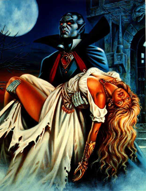vampir resimleri engraving