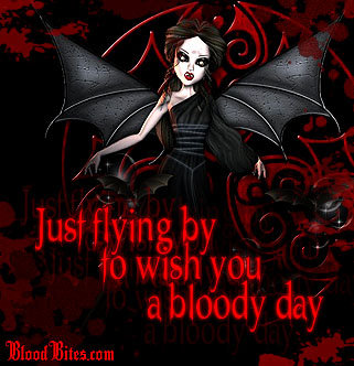 bloodbites.com - Vampire and gothic layouts, pictures, creepy stickers, and more